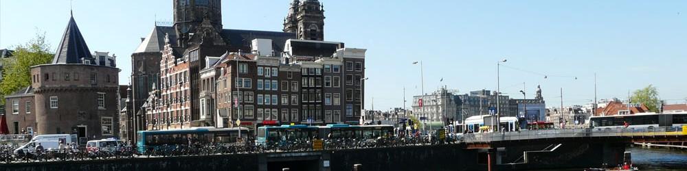 Amsterdam near central station